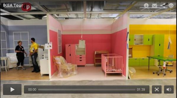 Denver post inside ikea centennial store taking shape for Ikea showroom near me