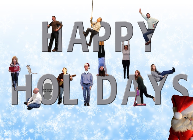 Happy Holidays from Crosbie Real Estate Group!